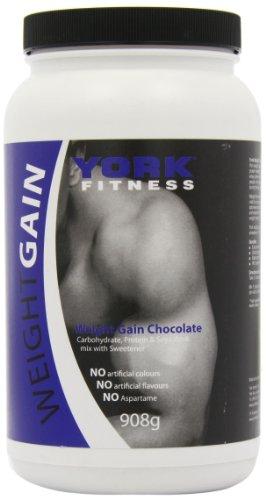 York Weight Gain 908 g Chocolate Weight Gain Shake Powder