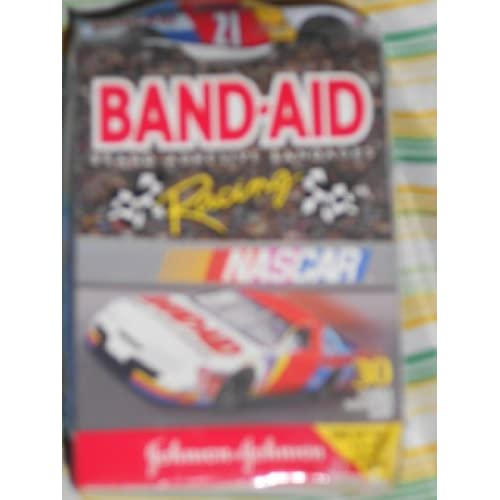 Nascar Racing Band Aid Brand Band Aids 0 Assorted Sizes
