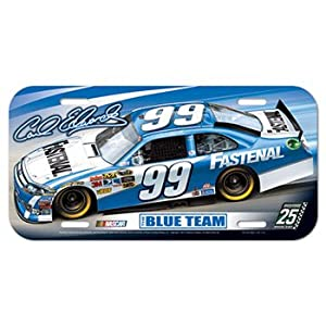 Buy #99 Carl Edwards Fastenal 2012 License Plate W Car Wincraft 23245012 by Brickels