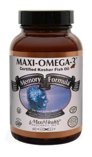 Maxi Omega-3 Memory Formula , 7Oz Bottle