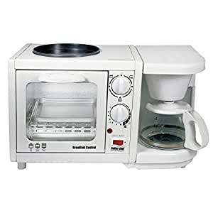 Better Chef Breakfast Central 3-in-1 Meal Maker- White