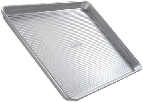 USA Pan Bakeware Quarter Sheet Pan, Warp Resistant Nonstick Baking Pan, Made in the USA from Aluminized Steel (Usa Pans Pie compare prices)