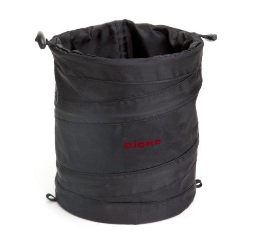 Diono - Contenitore impermeabile con cordoncino di chiusura, utilizzabile come cestino portaoggetti o per rifiuti, ripiegabile su se stesso per facilitarne la conservazione