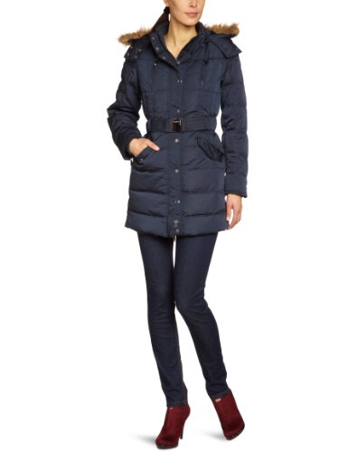 Pepe Jeans -Giacca piumino Donna    Schwarz (Blue Black) 52