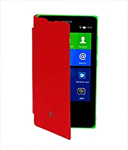 GrainFuse Flip cover for Nokia XL - Red