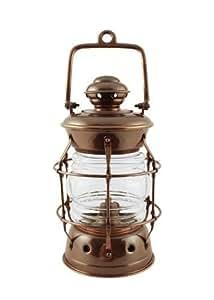 Amazoncom oil lanterns antique brass brass nelson for Nelson floor lamp antique brass