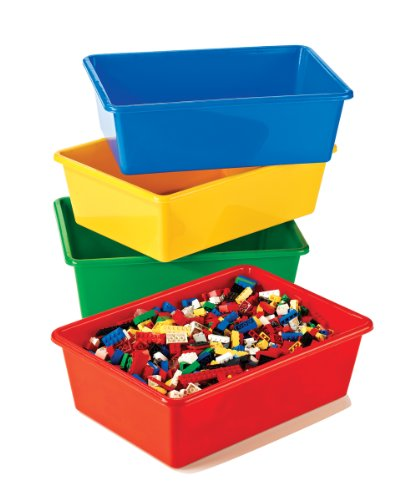 Tot Tutors Kids' Primary Colors Large Storage Bins, Set of 4 (Color Book Bins compare prices)