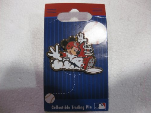 Disney Pin Major Leage Baseball Series The St. Louis Cardinals With Mickey Mouse From The 2008 Release at Amazon.com
