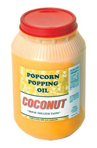 Paragon Coconut Popcorn Popping Oil (Gallon) (Coconut Butter For Popcorn compare prices)