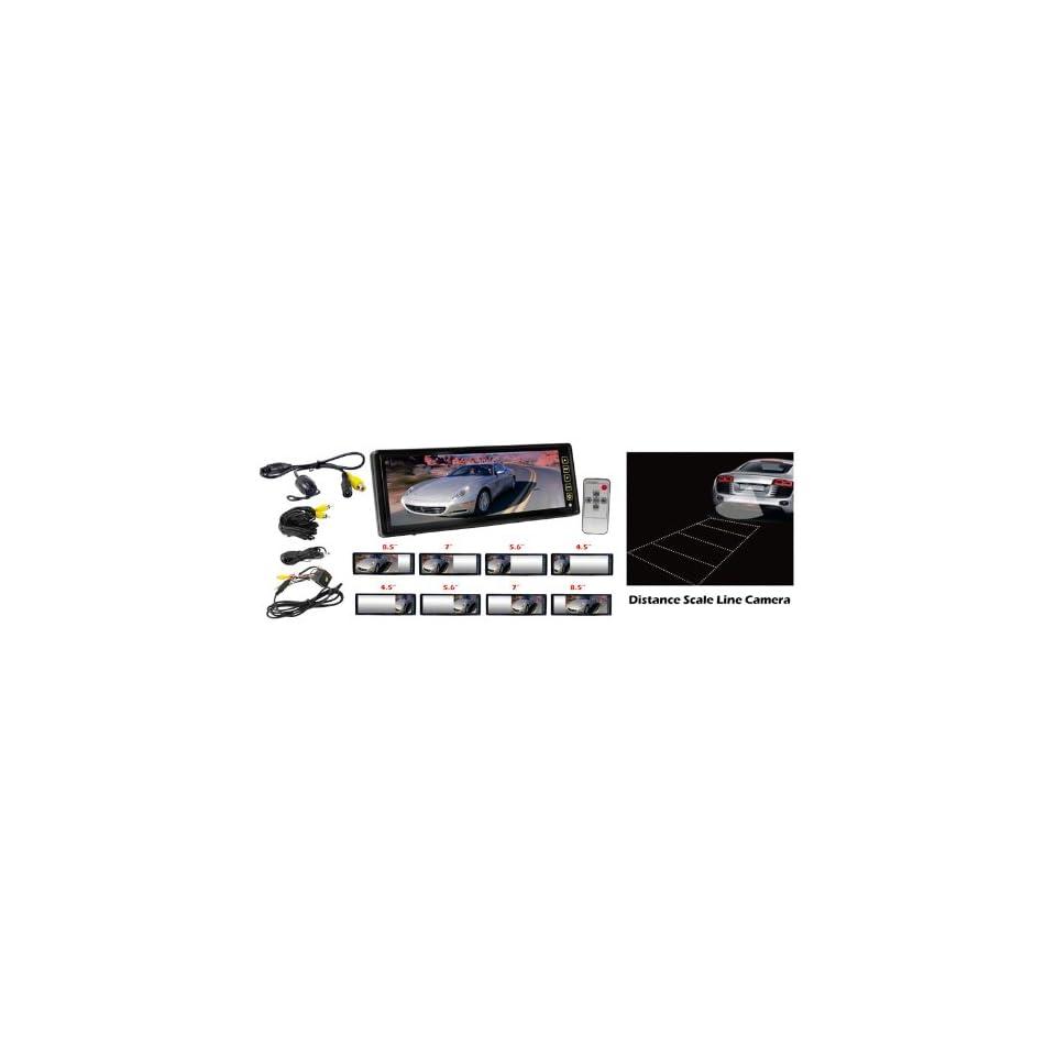 Exclusive Pyle PLCM105 10.2 TFT LCD Rear View Mirror