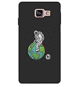 CHUNGROO Designer Printed Hard Back Grip Case Cover for Samsung Galaxy A5 (2016 New Edition)