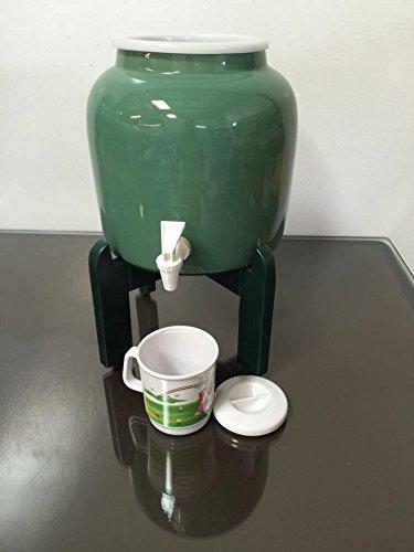 1 Gallon Ceramic Crock With Spigot