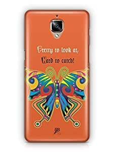 YuBingo Colourful Butterfly Mobile Case Back Cover for OnePlus 3