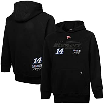 NASCAR Chase Authentics Tony Stewart Youth Groove Pullover Hoodie - Black (X-Large) by Football Fanatics