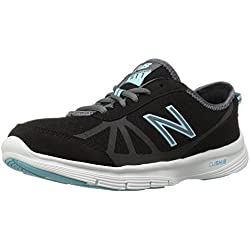 New Balance Women's Walking Shoe (Black/Blue)
