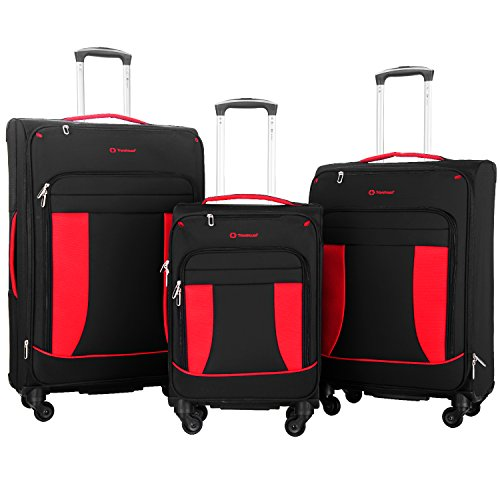 travelhouse-3-piece-softshell-deluxe-expandable-spinner-luggage-set-black-with-red