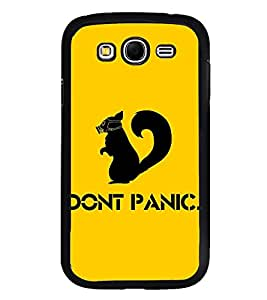 Fuson Premium 2D Back Case Cover Don't Panic With Multi Background Degined For Samsung Galaxy Grand i9080:::Samsung Galaxy Grand i9082