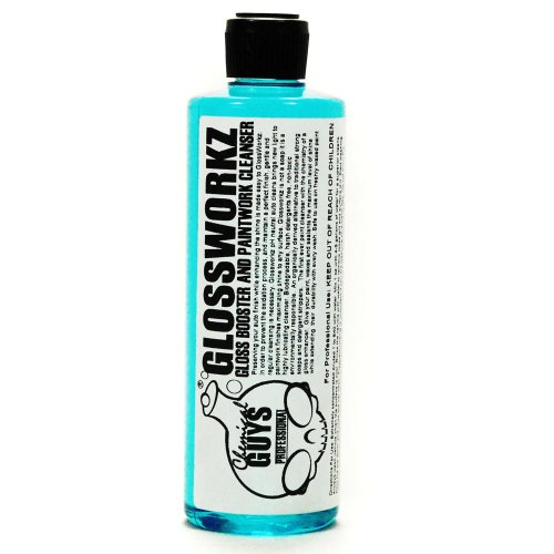 Chemical Guys CWS_133_16 Glossworkz Hi-Foam Gloss Booster, pH Neutral Carwash and Auto Wash - 16 oz.