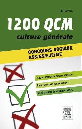 1 200 QCM Culture générale Concours sociaux