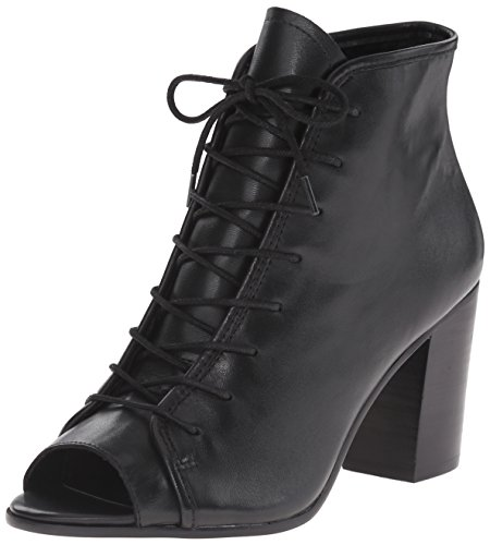 Women's Steve Madden 'Neela' Lace-Up Bootie, Size 6 M - Blac