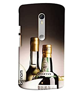 Omnam Imported Whisky Printed Designer Back Cover Case For Moto X Style