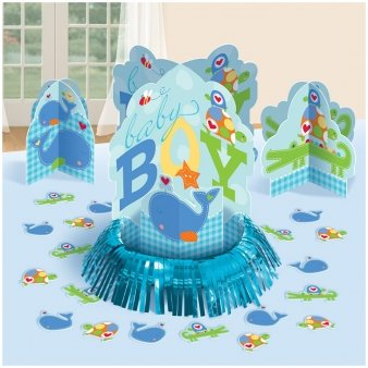 Ahoy Baby Table Decorating Kit Centerpiece Blue Boy Shower Birthday