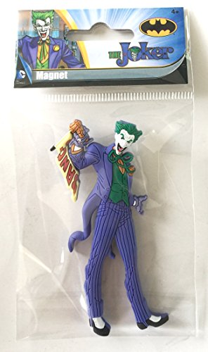 DC The Joker Soft Touch PVC Magnet - 1