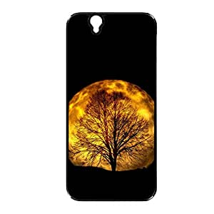 Vibhar printed case back cover for Sony Xperia Z OrangeTree