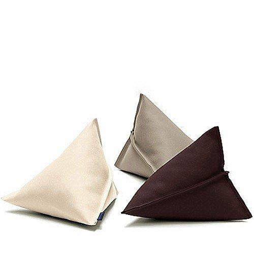 Dreieckiges Filz Kissen 56 x 56 x 59 cm viele Farben Hey Sign LILY, Hey Sign_Farbe:21 – Bordeaux günstig bestellen