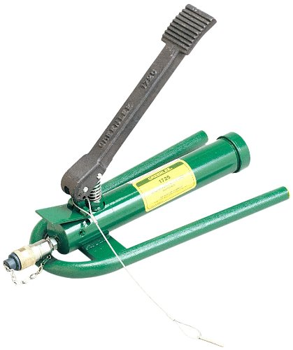 Greenlee 1725 Hydraulic Foot Pump