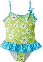 Flap Happy Little Girls'  Upf 50+ Skirted Swimsuit