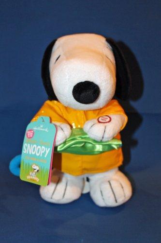 Ewm3063 Hallmark 2014 Splashin' Dancin' Snoopy - Sound And Motion Techno Plush front-1074861