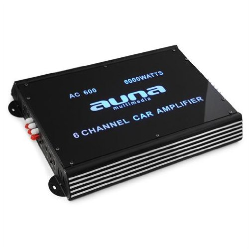 Auna 6-Kanal Auto-Endstufe Car Verstärker 6000W