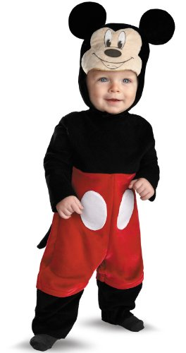Lets Party Mickey Mouse Costume - Size 12/18 Months