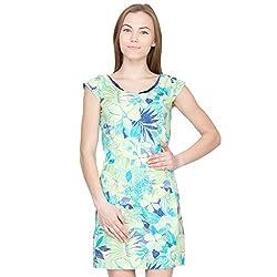 Species Women's A-Line Dress (S-804_Yellow_XXX-Large)