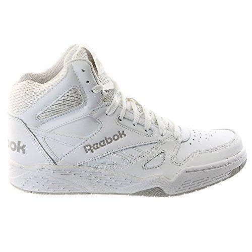 Reebok Men's Royal Bb4500 Hi Fashion Sneaker, White/Steel, 11 M US (Reebok High Top Shoes compare prices)