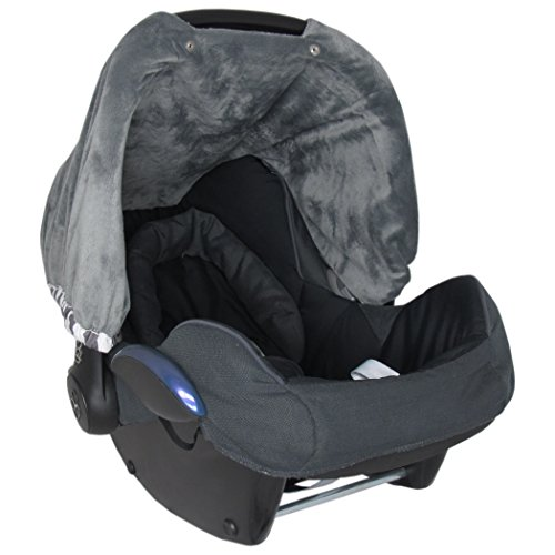 baby car seat covers for girls and boys infant canopy with window flap system and bag toddler. Black Bedroom Furniture Sets. Home Design Ideas