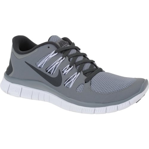 Nike FREE 5.0 PLUS Men's Running Shoes, COOL GREY GRAY/ANTHRACITE/WHITE, 7 M US (Cool Nike Running Shoes compare prices)