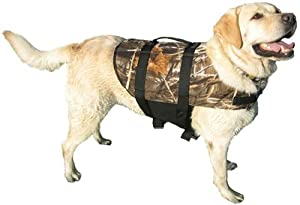 Treemax Four Camouflage Dog Life Jacket Size Small Dogs 15-20 Lbs by Paws Aboard