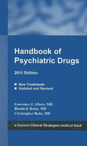 Handbook of Psychiatric Drugs, 2011 Edition