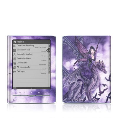 Dragon Sentinel Design Protective Decal Skin Sticker for Sony Digital Reader Pocket Edition PRS 350