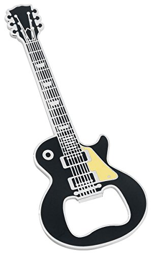 Guitar Apribottiglie nero