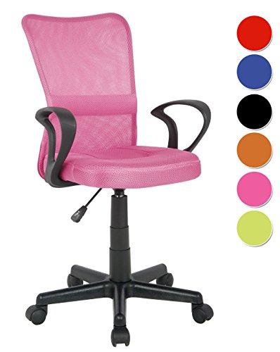 SixBros. Sedia ufficio sedia girevole fuchsia - H-298F-2/2109