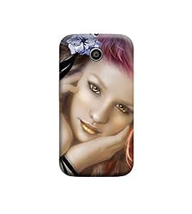EPICCASE Premium Printed Back Case Cover With Full protection For Motorola Moto E (Designer Case)