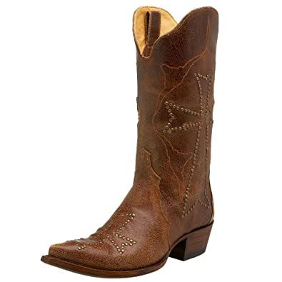 Old Gringo Women's L242-4 Ooh My God Cowboy Boot,Rust,7 M US