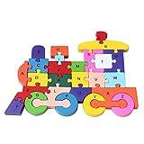 Juguetes Educativos Rompecabezas Puzzles N�meros de Cartas - Multicolor 2