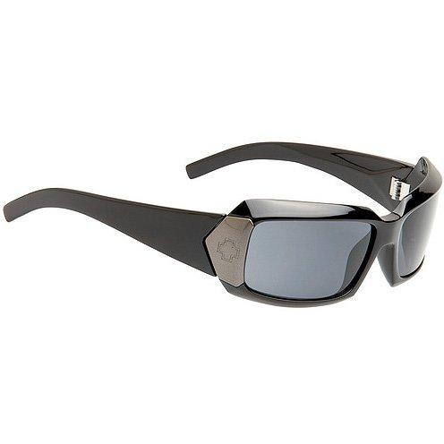 Spy Cleo Sunglasses - Spy Optic Steady Series Polarized Sportswear Eyewear - Color: Black/Grey, Size: One Size Fits All