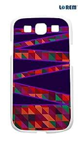 Lorem Back Cover For Samsung Galaxy S3 (i9300)-Multicolor-L15662