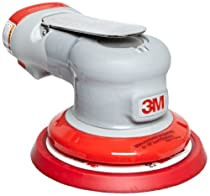 3M Random Orbital Sander - Elite Series 28498, Air-Powered, Non-Vacuum, 5 Inch, 3/32