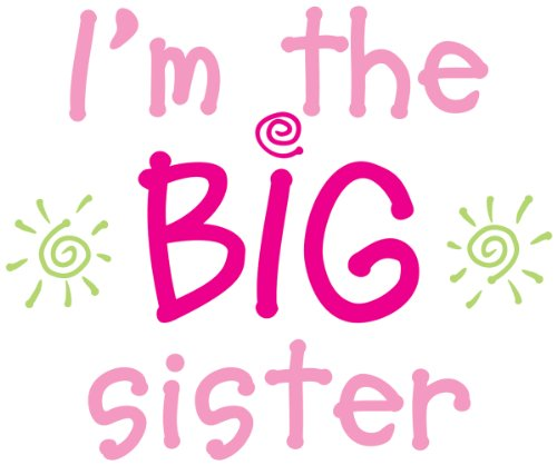 Uptown Baby Color Transfer Iron-Ons 2/Pkg-I'M The Big Sister front-84175